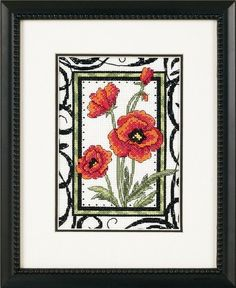 BLOOMING POPPIES - Counted Cross Stitch