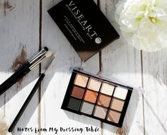 Viseart Neutral Matte Eye Shadow Palette Review and Swatches