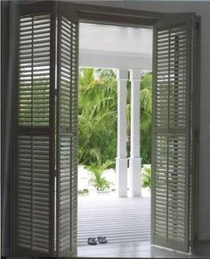 coastal house shutters - Google Search
