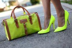 Lime green? Hmm... Likin it.