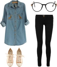 """simple day"" by cristinamiranda on Polyvore"