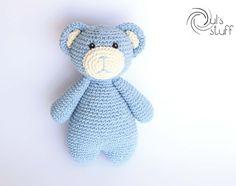 Oso de crochet, amigurumi, oso, oso amigurumi de DulsStuff en Etsy