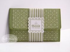 Pop-up gift card holder with tutorial.