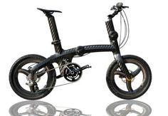 Grigiocarbonio : foldable bicycle - 8,5kg (carbone T1000) - grigiocarbonio.it