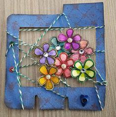 Made In Borgo: Memory Dex Card - Tema Fiori Paper Crafts, Wreaths, Memories, Cards, How To Make, Decor, Memoirs, Souvenirs, Decoration