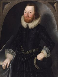 Portrait of a Member of the Towneley Family, traditionally identified as John Towneley c1620  John Souch 1593-1645 (Philip Mould gallery)
