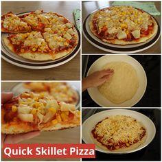 Skillet, Pasta Recipes, Stove, Pizza, Eat, Breakfast, Food, Morning Coffee, Range