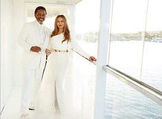 Confira as fotos do casamento de Tina Knowles, mãe de Beyoncé