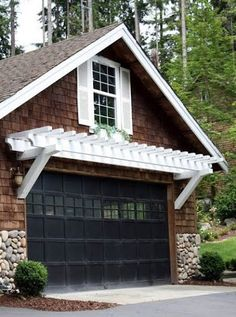 I fantasize about a little room above a garage... This WILL occur at some point in my future!