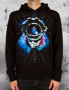 Space X Pullover Hoodie - Embedded universal synthesis.