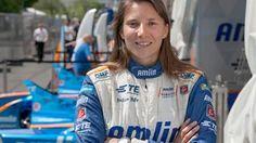 Simona de Silvestro, professional race car driver