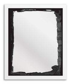 GRUNGE WALL ART MIRR
