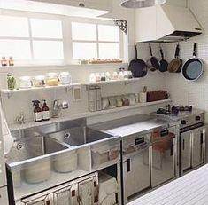 46 Modern Restaurant Kitchen Design Ideas - nicholas news Kitchen Design Open, Commercial Kitchen Design, Modern Kitchen Cabinets, Restaurant Kitchen Design, Kitchen Renovation, Best Kitchen Designs, Industrial Kitchen Design, Kitchen Layout, Contemporary Kitchen