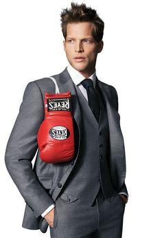 Samuelsohn Cashmere Flannel Suit