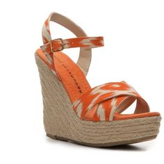 Chinese Laundry Dance Floor Wedge Sandal ($35) ❤ liked on Polyvore