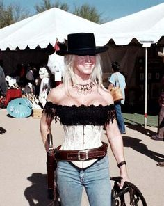 cowboy action shooting hot cowgirls | This Lady was at Winter Range, too. Not a practical costume, but not ...