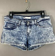 Juniors Shorts Lowrise boyfriend shorts Stretch Distressed NWT Size00