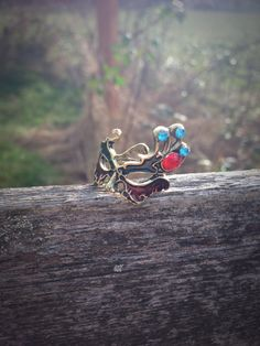 WANT SO BAD!!! Tiana Masquerade Inspired Ring by SpoonfulofWhimsy on Etsy, $5.99