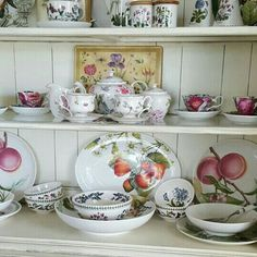 Portmeirion Pottery - Assortment of Patterns - Artfully on Display!
