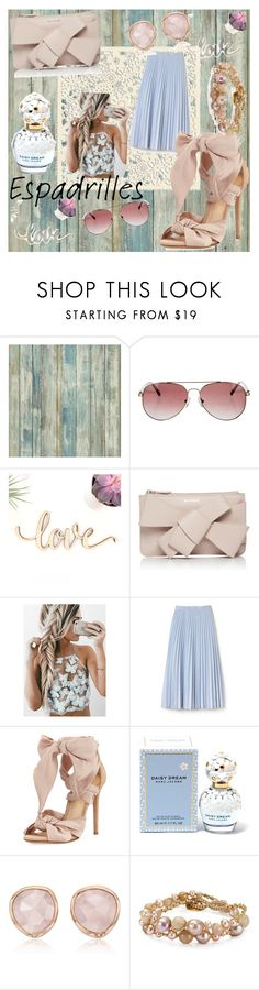 """Love for bows and pastels!! 🎀"" by anubhuti-tandon ❤ liked on Polyvore featuring RoomMates Decor, Anine Bing, Delpozo, Lacoste, Alexandre Birman, Marc Jacobs, Monica Vinader and Chan Luu"