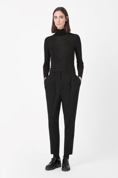 COS   Tapered wool trousers