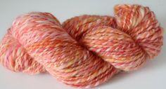 Garn / Wolle handgesponnen Alpaka / Merino von ChameleonWool