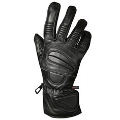 XXL, BLACK ILM Alloy Steel Motorcycle Riding Gloves Warm Waterproof Windproof for Winter Use WINTER