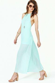 Clear Skies Maxi Dress