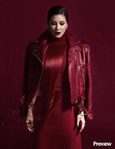 Regine my loves Red Leather, Leather Jacket, Couple Photos, Aladdin, My Love, Jackets, Queen, Disney, Fashion