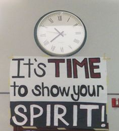 Where's your spirit?                                                                                                                                                      More