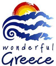 Wonderful Greece tourism logo and place brand Destination Branding, City Branding, Logo Branding, Travel Logo, Travel And Tourism, Travel Taglines, Greece Tourism, Tourism Marketing, City Logo