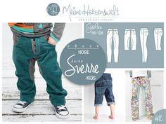eBook # 12 - deine SVERRE Kids - Hose -  Größe 56-128 - Nähanleitungen bei Makerist