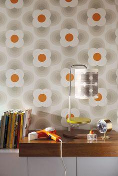 Orla Kiely wallpaper (MIdbec) – Husligheter.se