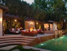 stunning backyard / pool, my next house all about the poolscape!