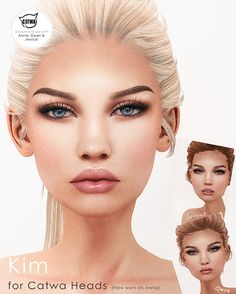 33 Best CATWA HEAD images in 2017 | Second life, Mesh, Tulle