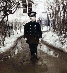 Tsesarevich Alexei Nikolaevich in 1910