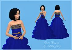 Princess dress by MoonFairy at Everything for your sims • Sims 4 Updates