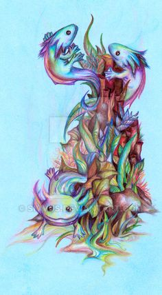 Axolotl by sivvus on DeviantArt