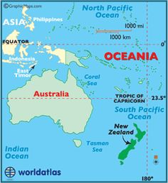 Australia map map of oceania south pacific map new zealand map map of fiji fiji map geography of fiji map information world atlas gumiabroncs Gallery