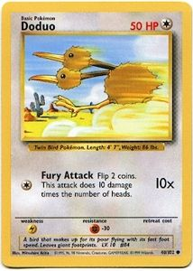 Pokemon Basic Common Card - Doduo 48/102