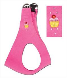 Cupcake Step-In Ultrasuede Harness