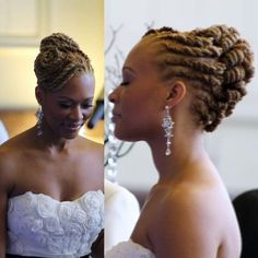 Image result for Locs look for weddings