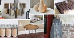 9 Εύκολα Ρουστίκ DIY για το Σπίτι σας