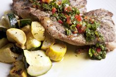 Nuwave Cooking Club.....Lamb Chops with Mint-Pepper Sauce