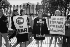 Anti Vietnam war protesters