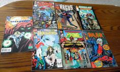 Group of 1990s comic books Misc. titles and publishers as