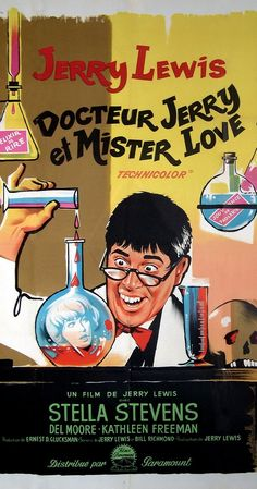 Directed by Jerry Lewis. With Jerry Lewis, Stella Stevens, Del Moore, Kathleen Freeman. To improve his social life, a nerdish professor drinks a potion that temporarily turns him into the handsome, but obnoxious, Buddy Love.