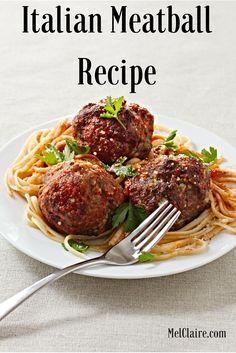 MelClaire's Homemade Meatball Showdown Recipe 2 via…