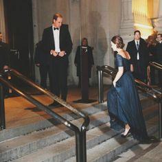 FAIRYTALE on the MET steps  #williamandkatenyc #katemiddleton #princewilliam