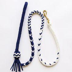 Mecate スタイルのリード, 550パラコード,8 strand square braid,パラコード リード,Paracord Dog leash,菊五郎商店オリジナル